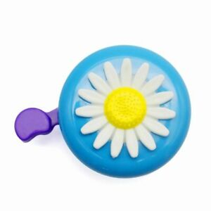 Four Colors Flower Bicycle Bell For Lady Aluminum Cycling Ring For Kids Folding
