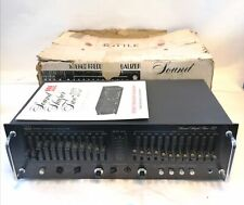 Adc Stereo Frequency Equalizer Sound Shaper Two - Ic (Vintage)
