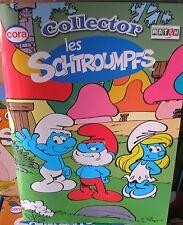 Lot de 20 Album Collector Schtroumpfs Smurfs Schlumpfs Neuf Collection Cora !!