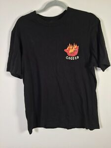T bar x Cotton on mens cooked funny graphic t shirt festival rave drugs size L