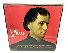 New Shakespeare Recording Society Caedmon King Richard III Vinyl Records Sackler