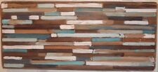 Reclaimed Barn Wood Wall Decor Art Sculpture Modern Rustic Farmhouse Cabin Lodge