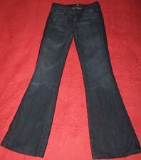 7 For All Mankind Women's size 24 Dark Jeans in EUC