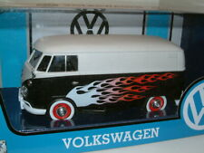1:24 VOLKSWAGEN T1 VAN CUSTOM `RAT` FLAMES RETRO.