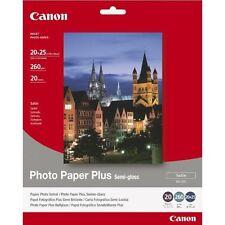 Canon Sg-201 Plus Photo Paper (260 G/sq M 20x25 Cm 20 Sheets Single Pack)
