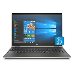 "HP Pavilion x360 15.6"" 2-in-1 Touch Screen Quad-Core i5-8250U 8GB RAM 1TB USB-C"