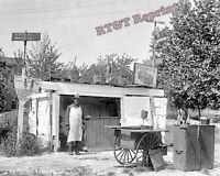 Photograph Vintage Sutherland Roadside Restaurant Fairview Hotel Year 1916 8x10