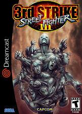 STREET FIGHTER III 3rd STRIKE DREAMCAST incorniciato stampa (MAN Grotta Foto Arte GAME)