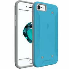 Poetic QuarterBack【Corner / Bumper Protective】Case Cover For Apple iPhone 7 Blue