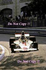 Graham Hill Embassy Racing Shadow DN1 Monaco Grand Prix 1973 Photograph 2