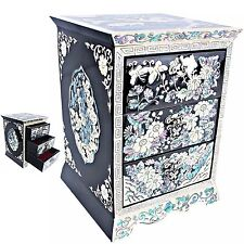 Jewelry Organizers Jewelry Boxes Mother Of Pearl Women Gift Items HJD301Black