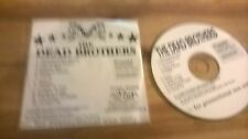 CD Folk The Dead Brothers - Same / Untitled Promo (10 Song) Promo VOODOO RHYTHM