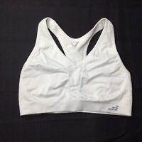 bcg Low Support Womens White Sports Bra Size Medium M Athleisure
