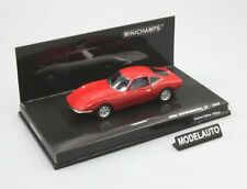 Minichamps 1:43 Opel GT 1965  Pre-Production  red L.E. 250 pcs.