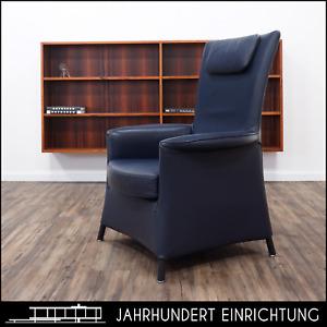 """WITTMANN   """"Alta""""   Design Paolo Piva   Ledersessel   Lounge Chair Sessel Leder"""