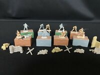 Lot of 10 Zerboz miniature Military Army Figures w/ Boxes