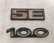 Audi 100 5E Rear Badge // 100 Badge // Old Style // Genuine // VAG