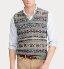Polo Ralph Lauren Men's Fair Isle Wool-Blend Vest