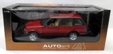 Véhicules miniatures rouge AUTOart cars