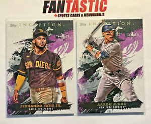 2021 Topps Inception Base Card YOU PICK - #1-100 inc RC, Finish Your Set!