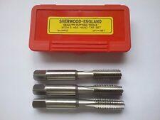 M10 x 1.5 HSS TAPER  SECOND & PLUG TAP SET SHERWOOD  *NEW*