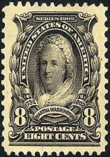 US Postage Stamp PHOTO MAGNET Martha Washington issued 1902 8 cents