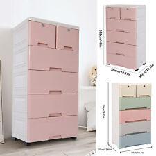 6 Drawer Chest Dresser Clothes Storage Organizer Bedroom Furniture Cabinet Usa
