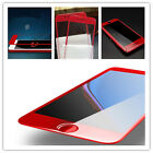 Red 3D Tempered Glass Soft Edge Curved Full Cover Screen Protector For iPhone