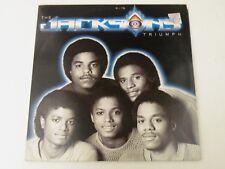 THE JACKSONS - TRIUMPH / THE JACKSONS - 2 LP EPIC RECORDS 1980 GATEFOLD EX-/VG+