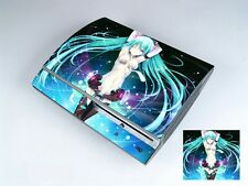 Miku 232 Vinly Skin Sticker Cover Protector for Sony PS3 PlayStation 3