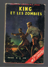 KING ET LES ZOMBIES  CAPTAIN W.E.JOHNS  PRESSES DE LA CITE 1955