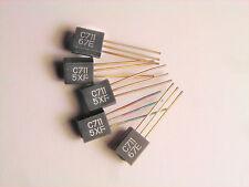 "2SC711 ""Original"" Mitsubishi  Transistor 5  pcs"
