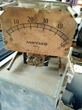 Weston Electrical Instrument Corp Model 502 DC Meter 0 - 50 Amperes DC