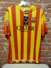 BARCELONA *Qatar Air* HOME Soccer Futbol Jersey Shirt sz XL~NWT~Fan~2013/2014