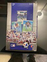 🔥 New 1991 FLEER ULTRA Baseball Factory Sealed Box 36 Packs Griffey JR