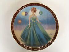 "1990 Danbury Mint High Fashion Barbie ""The 1963 Barbie Senior Prom"" Plate"