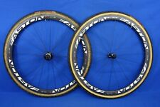 Easton EC90 SL Carbon Tubular Cyclocross Bike wheelset - w/ Tires - 10 Speed