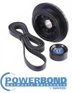 POWERBOND 20% UNDERDRIVE PULLEY KIT FOR HOLDEN SIDI LF1 LFW LLT LFX 3.0L 3.6L V6