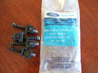 4 NOS OEM HEADLAMP ADJ. NUT & SCREWS 1978-86 FORD TRUCK VAN BRONCO RANGER PICKUP
