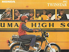 '82 Honda CM200 CM200T Sales Brochure