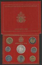2001 Vaticano divisionale 8 monete FDC