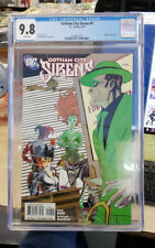 GOTHAM CITY SIRENS #9 - CGC Grade 9.8 - Harley Quinn, Catwoman & Ivy!
