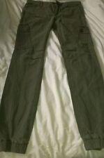 Cargo, Combat Regular Size Mid Rise 28L Trousers for Men