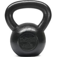 Yes4All 45 lb Kettlebell Weights for Body Workout - Cast Iron Kettlebells
