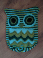 Hand Knitted Owl Pyjama PJ Nightdress case cushion case - 6 to choose from