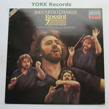 SXDL 7534 - ROSSINI - 7 Overtures CHAILLY National Philharmonic O - Ex LP Record