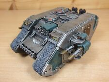 PLASTIC WARHAMMER CHAOS LAND RAIDER SONS OF HORUS PAINTED (L-2)