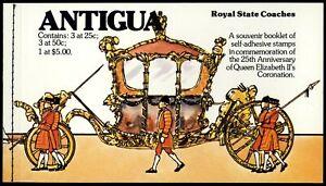 Antigua 1978 Coronation 25th Anniv Booklet #C57473
