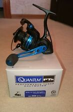New Quantum SL30PTs Smoke Inshore 5.2:1 Spinning Reel (Black & Blue) (old stock)