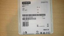 NEW NEU Speicherkarte Siemens SIMATIC Memory Card 12MB - 6ES7954-8LE03-0AA0